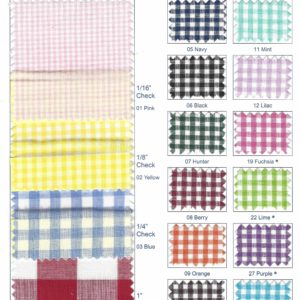 RichCheck™ Gingham Check