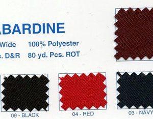 Gaberdine Solids