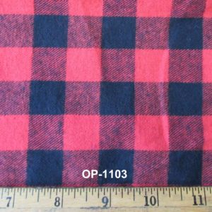"3/4"" Check Flannel"