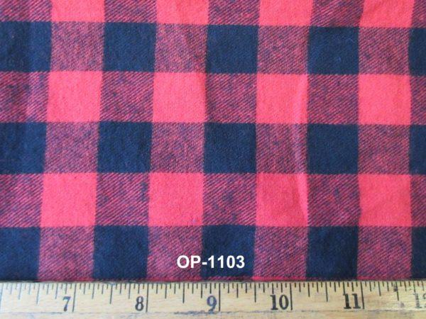 """3/4"""" Check Flannel"""
