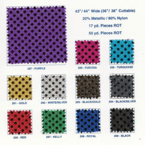 Sequin Dot Fabric